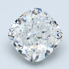 Pierre recommandée n°2: Diamant taille coussin 2,01 carats