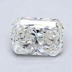 1.28-Carat Radiant Diamond Very Good G VS2
