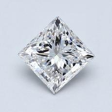 Recommended Stone #1: 0.96-Carat Princess Cut Diamond