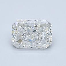 1.02-Carat Radiant Diamond Very Good H SI2