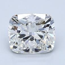 推荐宝石 4:2.01 克拉垫形钻石