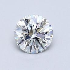 0.80 Carat Redondo Diamond Ideal I VS2