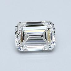 Recommended Stone #3: 0.74-Carat Emerald Cut Diamond