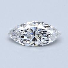 Recommended Stone #3: 0.82-Carat Marquise Cut Diamond