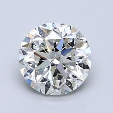 1.50 Carat 圓形 Diamond 良好 G SI2