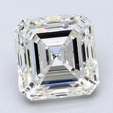 Recommended Stone #3: 3.01-Carat Asscher Cut Diamond