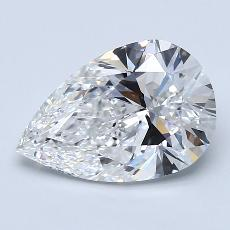 Recommended Stone #3: 2.20-Carat Pear Cut Diamond