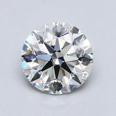 0.81-Carat Round Diamond Ideal G VS1