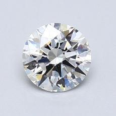0.95 Carat Redondo Diamond Ideal H VS2