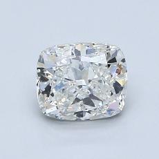 Pierre recommandée n°4: Diamant taille coussin 1,02 carats