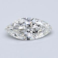 Recommended Stone #2: 0,53-Carat Marquise Cut Diamond