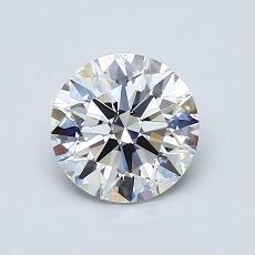 1.02 Carat 圆形 Diamond 理想 H VS2
