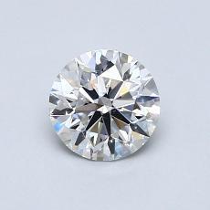 0.75 Carat 圓形 Diamond 理想 E SI1
