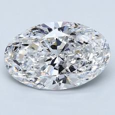 推荐宝石 3:1.90克拉椭圆形切割钻石