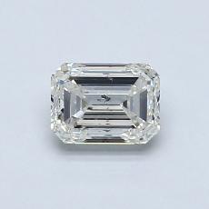 Recommended Stone #1: 0.70-Carat Emerald Cut Diamond