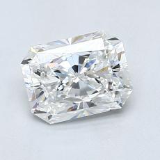 1,20 Carat Radiant Diamond Très bonne F VS2