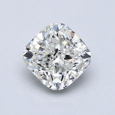 推荐宝石 1:1.04 克拉垫形切割