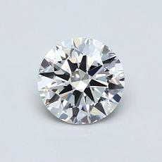 0,72 Carat Rond Diamond Idéale F VS1