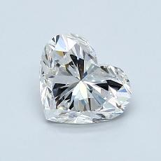 Recommended Stone #1: 1.02-Carat Heart Cut Diamond