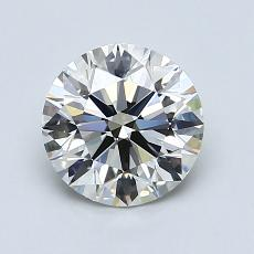 Recommended Stone #4: 1.29-Carat Round Cut Diamond