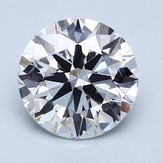 2.00 Carat 圓形 Diamond 理想 F VVS2
