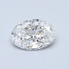 Recommended Stone #4: 0,70-Carat Oval Cut Diamond