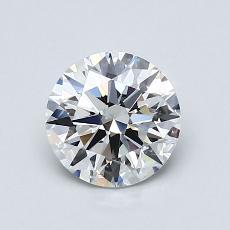 1.00 Carat 圆形 Diamond 理想 G SI1