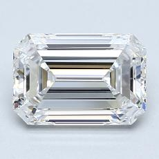 Recommended Stone #4: 1,80-Carat Emerald Cut Diamond