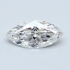 Recommended Stone #3: 0.64-Carat Marquise Cut Diamond
