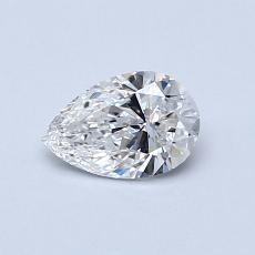 推薦鑽石 #2: 0.50 克拉梨形鑽石