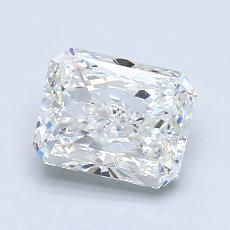 1.50-Carat Radiant Diamond Very Good G VS2