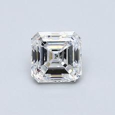 0.70-Carat Asscher Diamond Very Good E SI1
