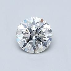 0.55 Carat 圓形 Diamond 理想 H VS2
