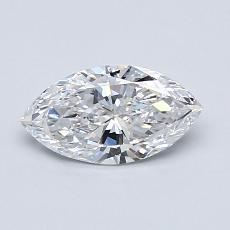Recommended Stone #3: 0.65-Carat Marquise Cut Diamond