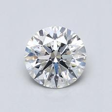 0.70 Carat 圆形 Diamond 理想 H VS2