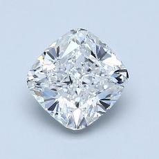 Pierre recommandée n°1: Diamant taille coussin 1,22 carats