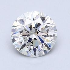 1.30-Carat Round Diamond Ideal G SI2