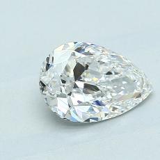 1.01 Carat 梨形 Diamond 非常好 F VS2