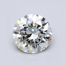 0,91-Carat Round Diamond Very Good H VS2