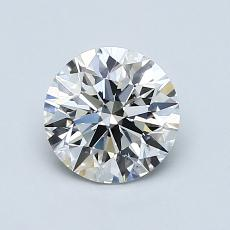 1.02-Carat Round Diamond Ideal G VS2