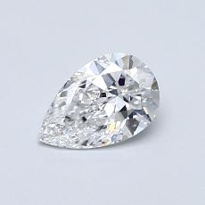Recommended Stone #4: 0,50-Carat Pear Cut Diamond