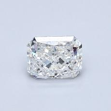 Recommended Stone #2: 0.60-Carat Radiant Cut Diamond
