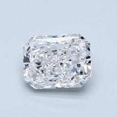 1.02-Carat Radiant Diamond Very Good F IF