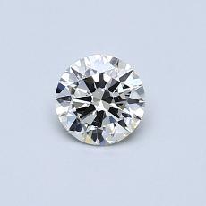 0.40-Carat Round Diamond Very Good K SI2