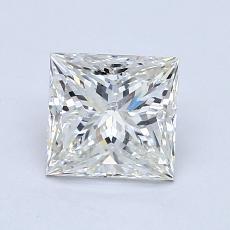 Pierre recommandée n°3: Diamant taille princesse 1,29 carat