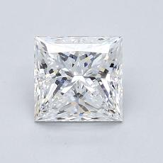 Recommended Stone #2: 1.22-Carat Princess Cut Diamond