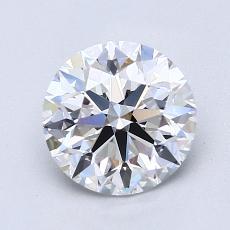 1.51 Carat 圆形 Diamond 理想 D VVS2