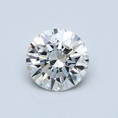 0.75 Carat 圆形 Diamond 理想 F VS2