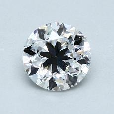 1.00 Carat 圆形 Diamond 良好 D VS2