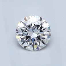 0.70 Carat 圓形 Diamond 理想 D SI1